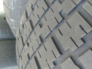 2 Nordics on Civic 4x100 rims 6/32 tread 185/75r14