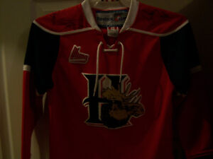 YOUTH MOOSEHEADS AUTOGRAPHED JERSEY