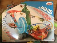 Brand new Thomas and friends minis raceway sets