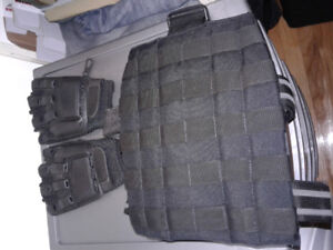 Multiples accessoires de airsoft/paintball