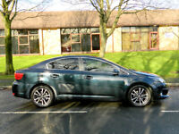 2012 61 Toyota Avensis 2.0 D-4D TR 4dr WITH FSH+SATNAV+BLUETOOTH++