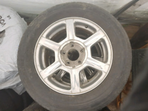 GM 16 inch Mags with Summer Tires