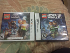 2 Lego games good for the 3DS system for $20