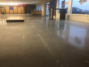 Polished Concrete, Epoxy Coatings, Sealer, Concrete Repair