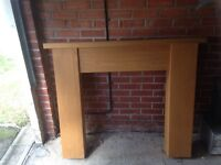 Fire surround solid wood