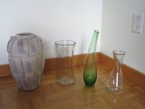 Beautiful flower vases and soliflores