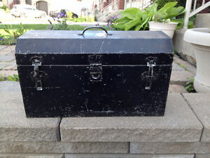 Coffre a Outils *** VINTAGE *** Tool Box