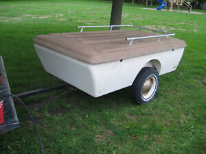 MOTOR CYCLE   TOURING  GLASS TRAILER