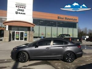 2015 Honda Civic Sedan EX  ACCIDENT FREE, LOCAL TRADE, BLUETOOTH