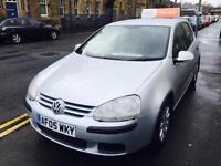 Volkswagen Golf 1.9TDI 2005MY SE DIESEL 5 DOOR METALIC 11 SERVICE STAMPS 2 OWNER