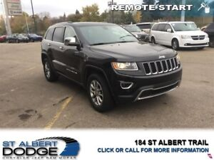 2016 Jeep Grand Cherokee Limited   | FRONT/REAR HEATED LEAHER |
