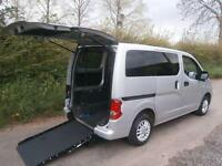 2011 Nissan NV200 1.5 dCi SE 6dr WHEELCHAIR ACCESSIBLE VEHICLE 6 door Wheelch...