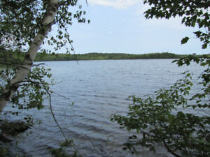 Sherbrooke Lake Access Lots. Very Private