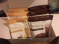 Juice PLUS Complete Vanilla and Chocolate