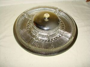 Serving Separator Dish - revolving Metal base platform* Kitchener / Waterloo Kitchener Area image 2