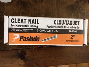 Paslode flooring nails.