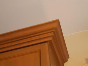 Kitchen Cabinet Crown Molding Pure Maple