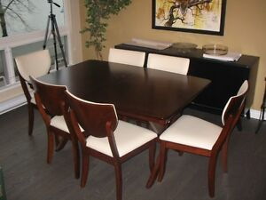 Great looking dining room table and chairs - we have an extra