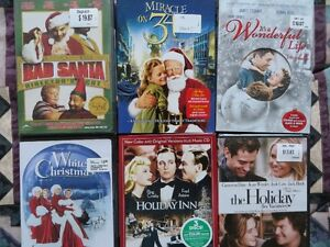 CHRISTMAS DVDS Kitchener / Waterloo Kitchener Area image 1