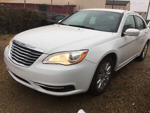 2013 Chrysler 200-Series Sedan 74000 km inspected finance now
