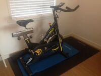 BARELY EVER USED BODYMAX B15 INDOOR CYCLE/SPIN BIKE