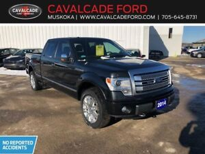 2014 Ford F150 4x4 Supercrew Platinum with leather seats!!