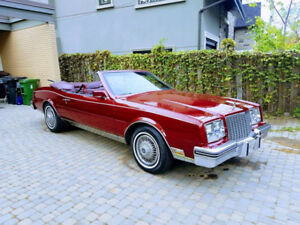1983 Buick Riviera Convertible $11,500 OBO