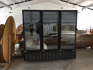 Black Master-Bilt 81.6 Cubic Foot Commercial Fridge Used