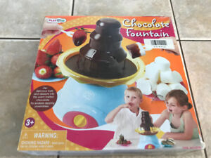 Chocolate fountain for kids or the whole family