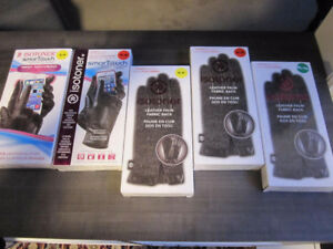 Leather Gloves, ISOTONER SmarTouch, Small, Med. & XL, BNIB -$15.