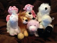 Lot of 7 Webkinz and 1 Lil Kinz NEW