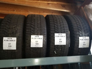 Continental WinterContact 195/55R15 6/32