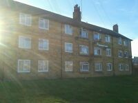 HOMESWAP council. 1 bed third floor flat, langney, eastbourne, seeking 2 bed property