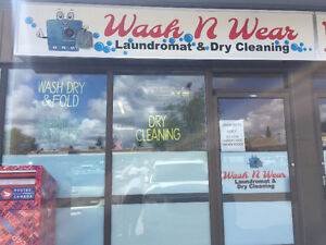 Laundromat and Dry Cleaning for sale in South Edmonton