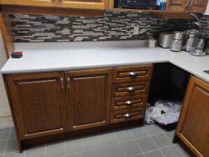 Basement Kitchen, Stove, Microwave, Sink, Tap, everything...