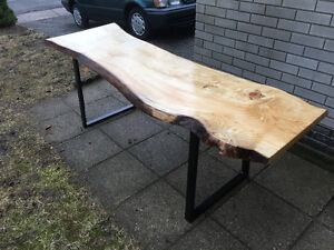 New Live Edge Dining Table