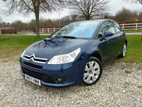 2007 Citroen C4 VTS+ 2.0HDi 16v (138hp) Manual Coupe Diesel in Blue