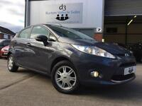 2011 Ford Fiesta 1.25 82ps Zetec 5 Door Metallic Midnight Sky Blue S/HISTORY