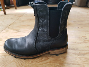 Harley Davidson Black Leather Riding Boots