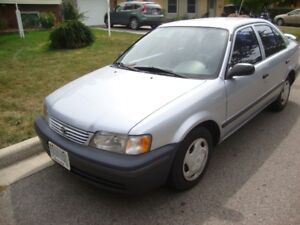 1999 Toyota Tercel CE Sedan Reduced for Quick Sale