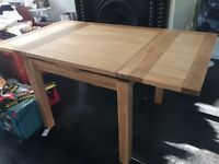 Natural Oak dining table