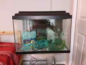 Fish tank 35 Ga with accessories