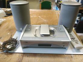 JVC CD player and FM radio