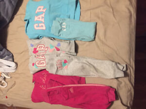Gap/adidas track suits. 2t