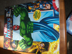 Marvel heroes, boardbook, large size