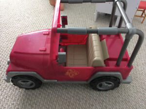 """Jeep for 18"""" doll"""