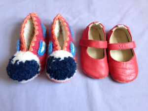 Toddler girls' shoes -- size 6