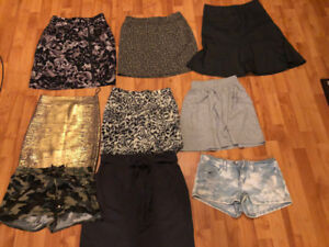 Skirts, Shorts, Tops, Sweaters, Dresses, All Small and XS