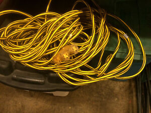 Heavy duty 3 prong extension cord