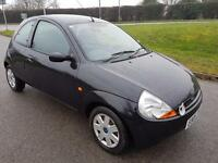Ford Ka, Only 44,371 Miles, In Black With a Year's Mot